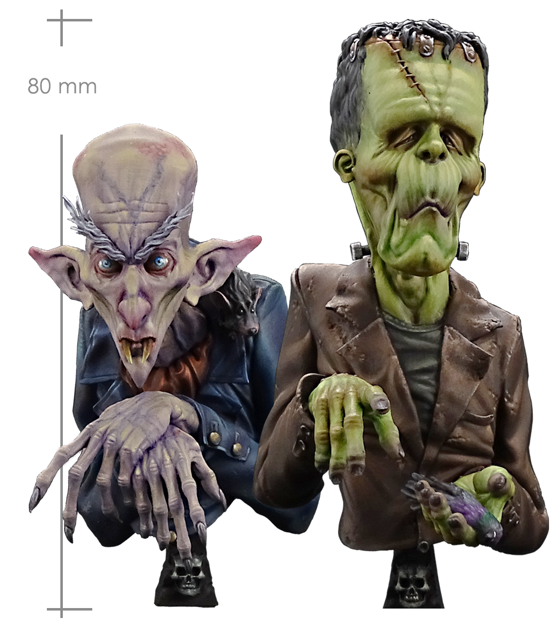 The monsters _ Michael Kontraros Collectibles