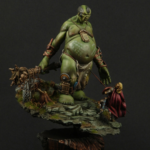 Earth Giant _ Michael Kontraros Collectibles