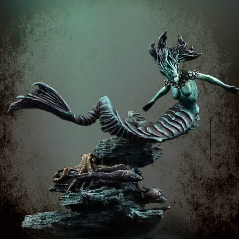 Water Demon _ Michael Kontraros Collectibles