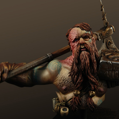 Dwarf Dragon Slayer_ Michael Kontraros Collectibles