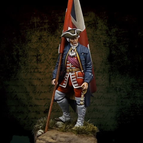 English Officer / Culloden_ Michael Kontraros Collectibles