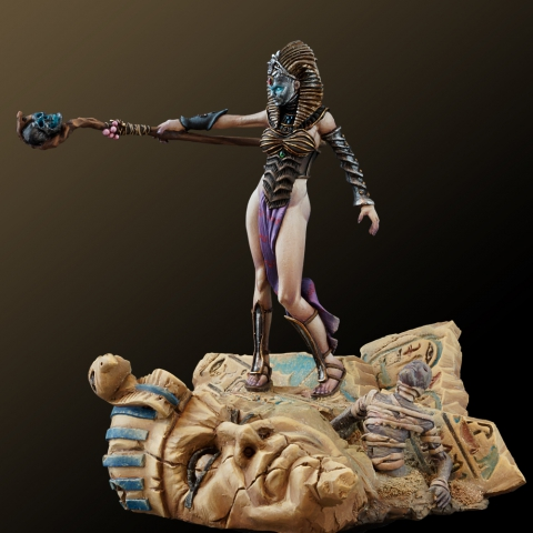 Mummy Queen_ Michael Kontraros Collectibles