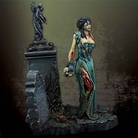 Zombie Queen _ Michael Kontraros Collectibles