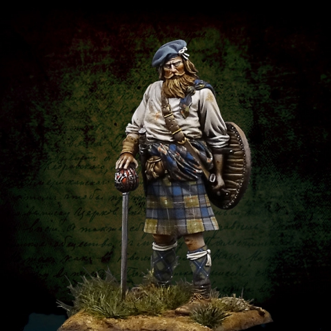 Scottish Clansman / Culloden_ Michael Kontraros Collectibles
