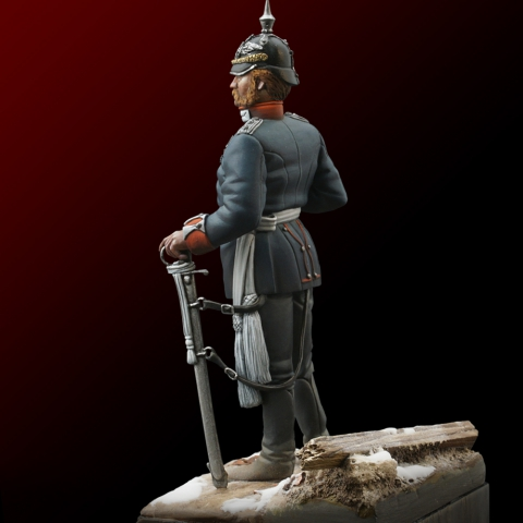 Prussian Off./Franco Prus.War_ Michael Kontraros Collectibles